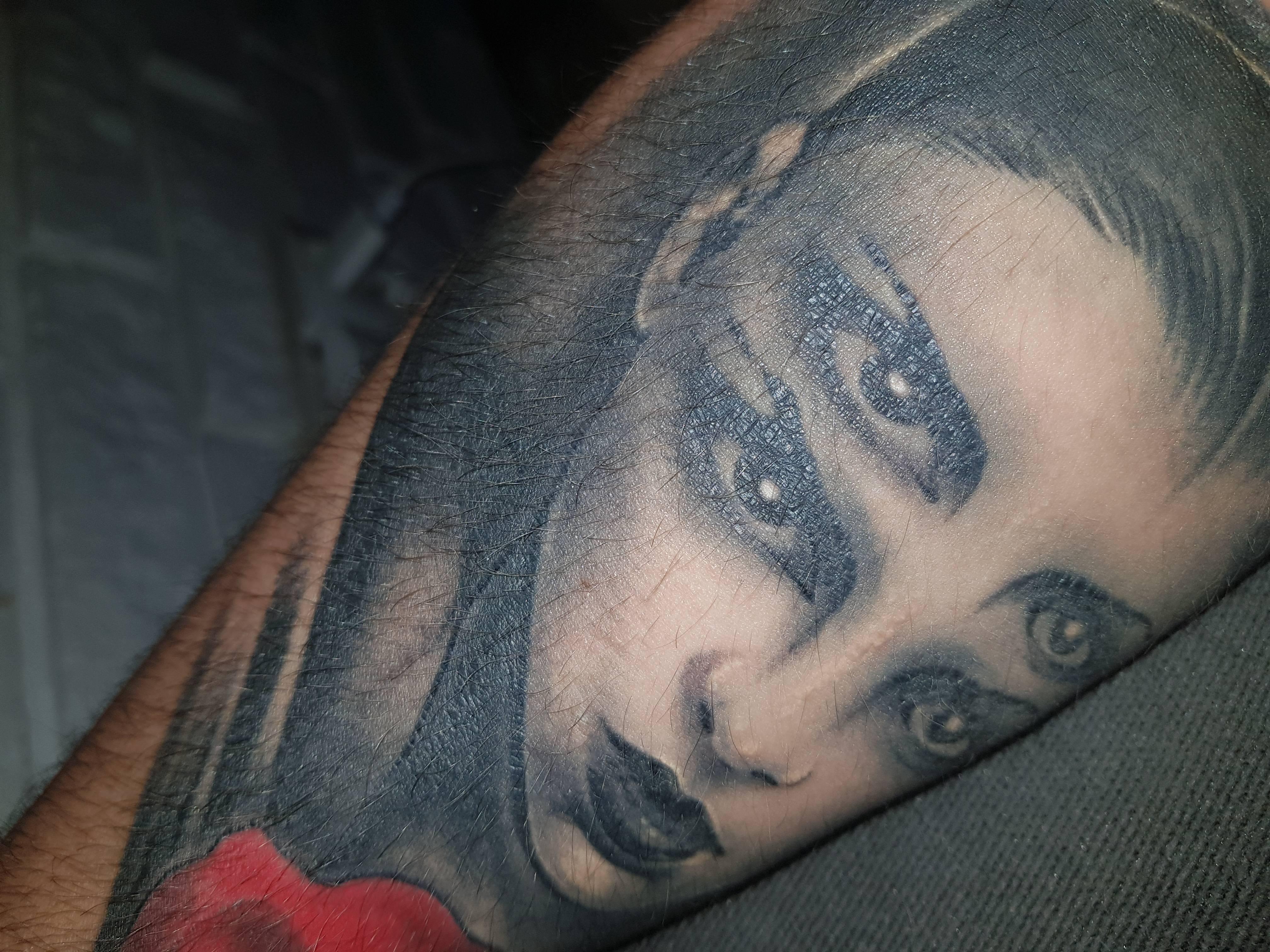 Pomarszczone I łuszczące Się Miejsca Na Tatuażu Tatuaże Forum