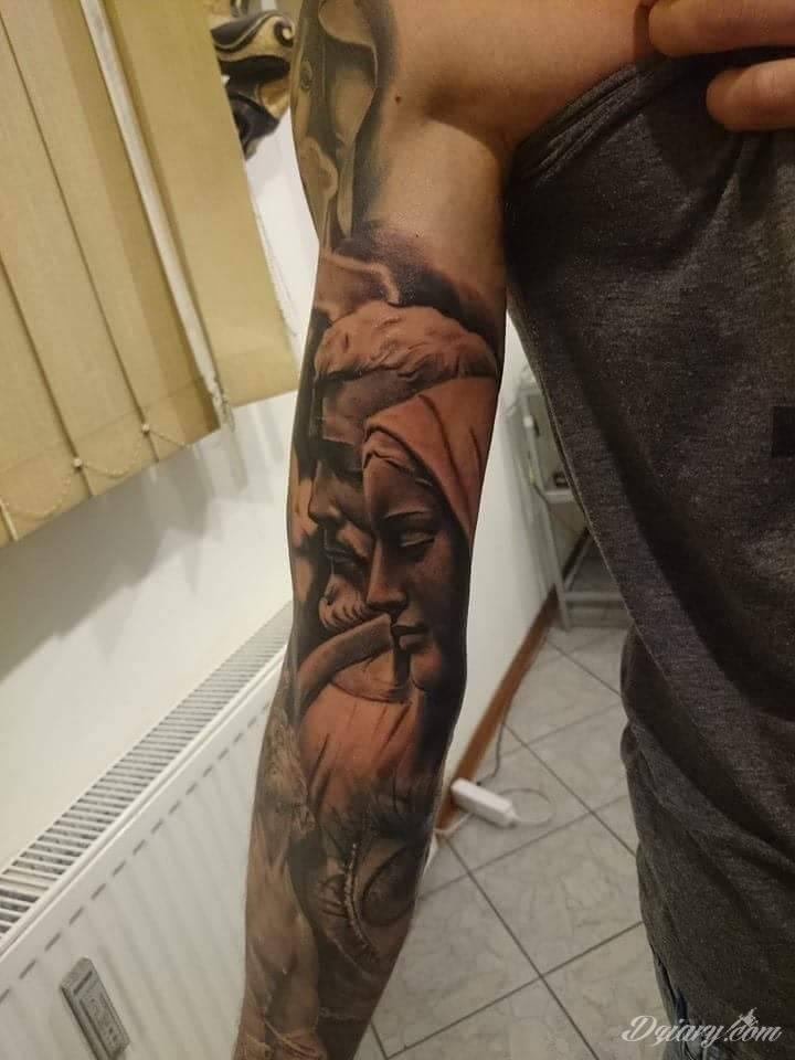 Rękaw Tematyka Religijna Tatuaże Forum