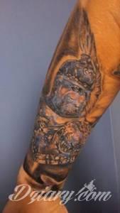Część tatuażu z 1 sesji...