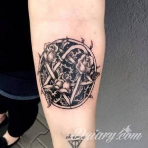 moje tatuaże.