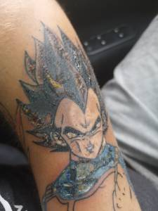 <p>5 dni temu zrobiłem tatuaż...