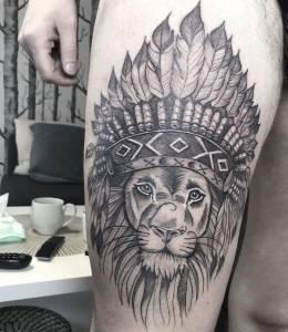 <p>Skończyłam tatuaz na mezudwa tyg...