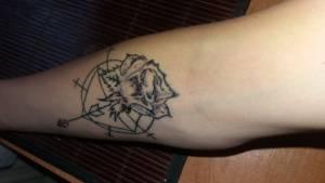 <p>We wtorek robiłam sobie tatuaż...