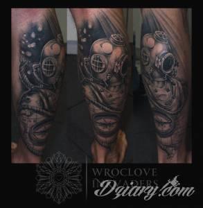 Połączenie moich fascynacji tatuażem, podróżami...