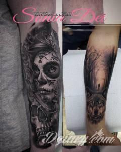 Siemka,zaczęły mi się podobać tatuaże...