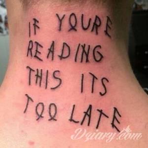 <p>Tatuaż to często pamiątka na...
