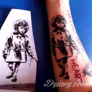 To jeden z moich tatuaży....