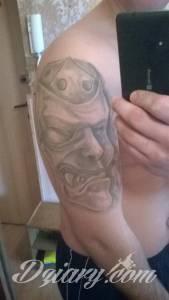 Witam Mam tatuaż na ramieniu...