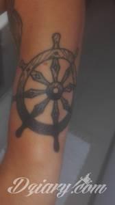 Witam zrobiłem sobie tatuaż motywem...