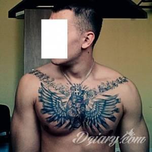 Zamieszczony tatuaz jest moim pierwszym...