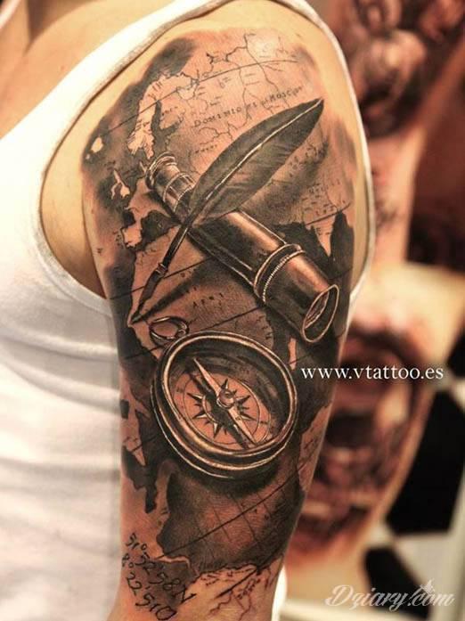 Rękaw Rodzinny Podróżnika Tatuaże Forum