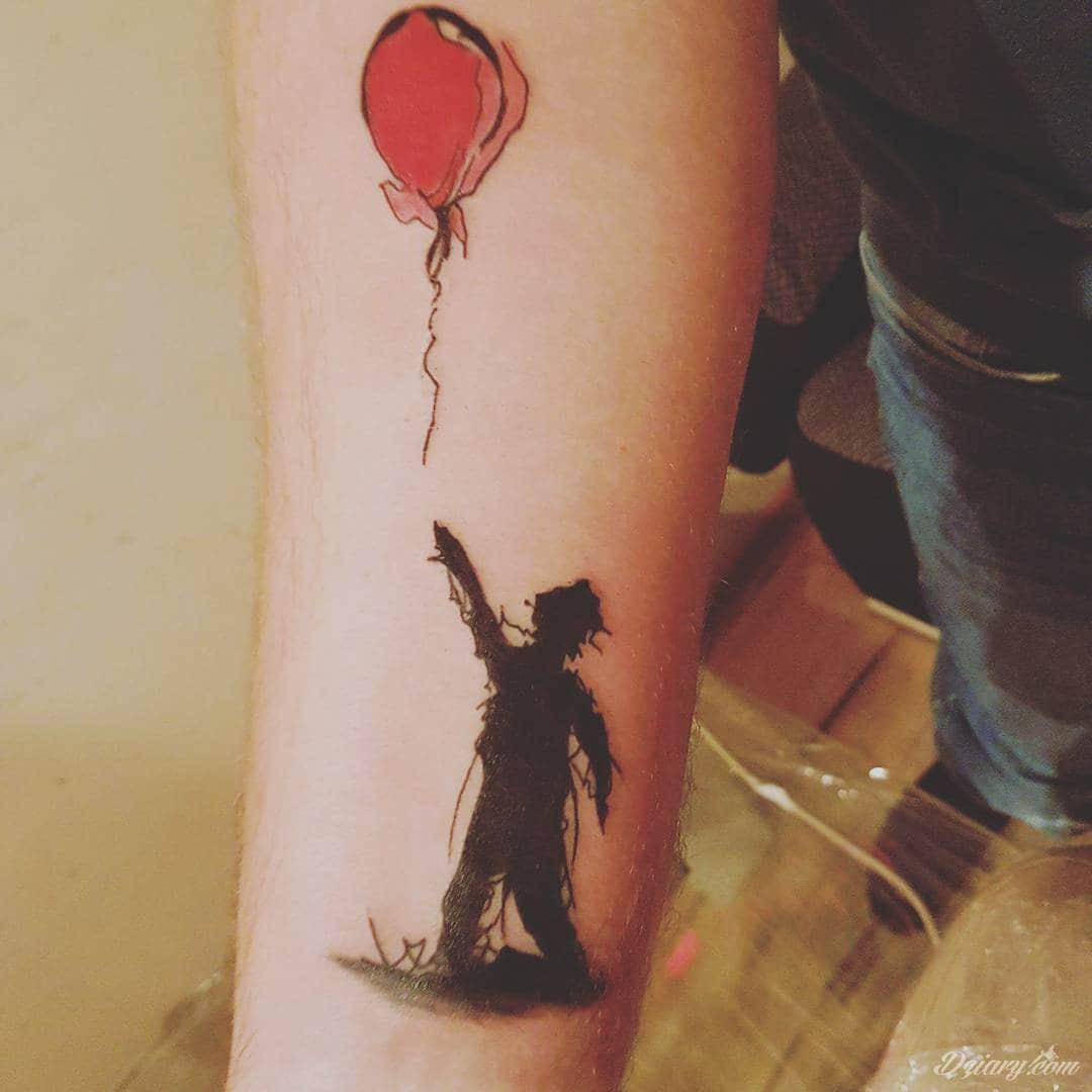 Wycena Tatuażu Banksy Balon Tatuaże Forum