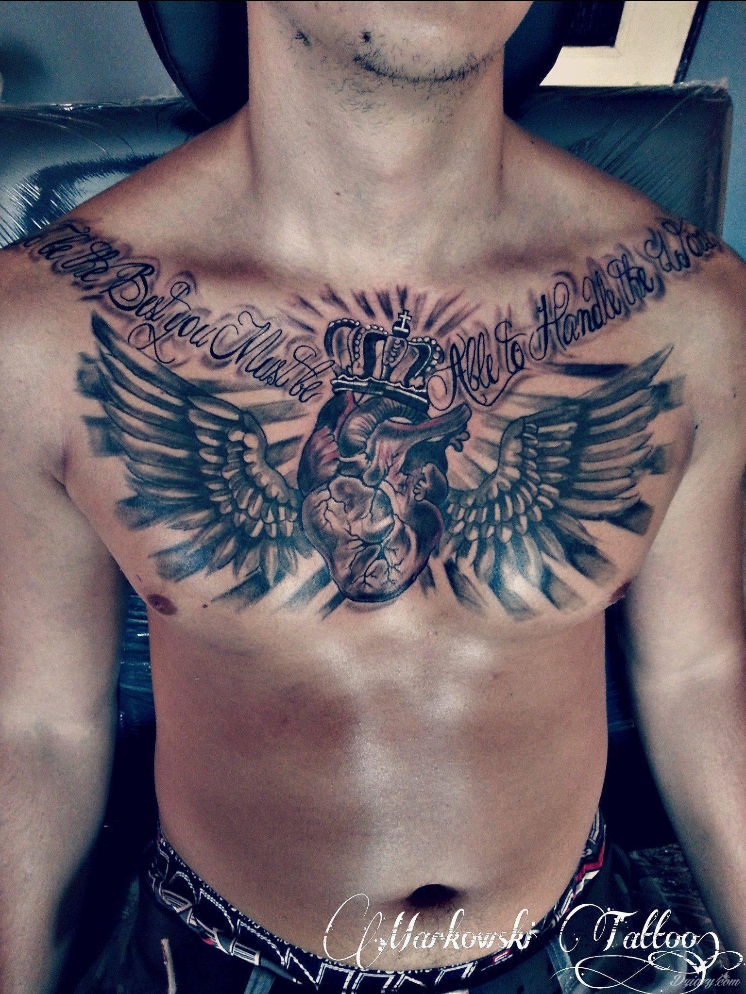 Królewskie Serce Ze Skrzydłami Tatuaże Forum
