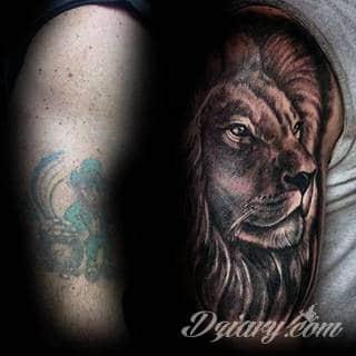 Tatuaże zakrywające; zasłaniające niedoskonałości skóry - znamiona, blizny czy wcześniejsze grafiki. Cover-up to mini-dzieła sztuki, które doskonale dopasowują się do konkretnych warunków na ciele tworząc zwartą, ciekawą całość.