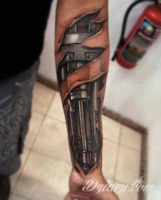 Tatuaże Meskie Wzory I Galeria Tatuaży