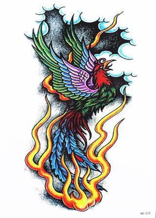 Tatuaże Feniks Wzory I Galeria Tatuaży