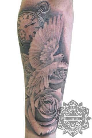 Wzory Tatuaży Gołąb Inspiracje Z Kategorii Tatuaże Gołąb