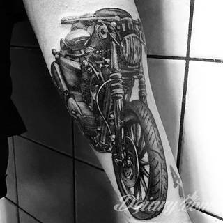 Tatuaże Harley Davidson