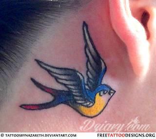 Wzory Tatuaży Jaskółka Inspiracje Z Kategorii Tatuaże
