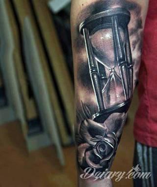Tatuaże klepsydra
