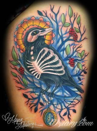 Tatuaże kolorowe