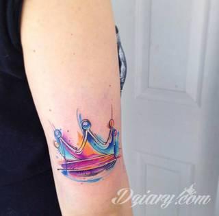 Tatuaże Korona Wzory I Galeria Tatuaży