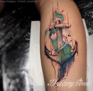 Tatuaże Kotwica Wzory I Galeria Tatuaży