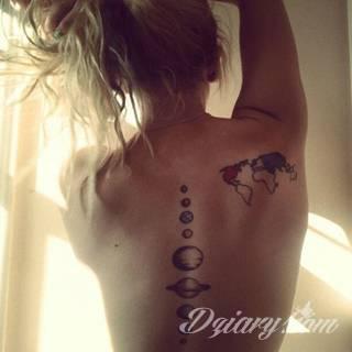 Tatuaże Kregoslup Wzory I Galeria Tatuaży