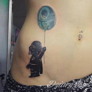 Tatuaże kreskówki