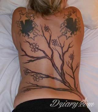 Wzory Tatuaży Kwiat Wiśni Inspiracje Z Kategorii Tatuaże