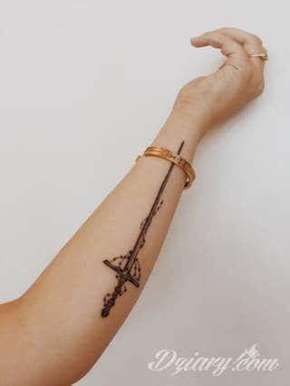 Wzory Tatuaży Miecz Inspiracje Z Kategorii Tatuaże Miecz