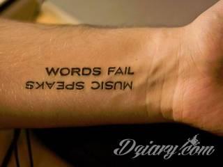 Wzory Tatuaży Muzyczne Inspiracje Z Kategorii Tatuaże
