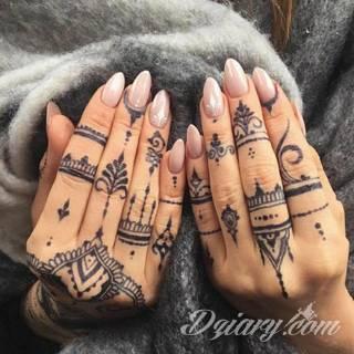 Wzory Tatuaży Na Dłoni Inspiracje Z Kategorii Tatuaże Na