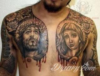 Tatuaż na klatce piersiowej od lat uchodzi za męski symbol, jednak ciekawie zaaranżowane grafiki mogą ozdobić również ciało kobiece. Tego rodzaju tatuaże na piersi z jednej strony są osobiste, ale z drugiej - mogą wyraźnie zwracać uwagę przy odpowiednim wyeksponowaniu.