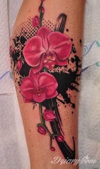 Wzory Tatuaży Na Nodze Inspiracje Z Kategorii Tatuaże Na