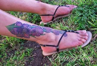 Wzory Tatuaży Na Stopie Inspiracje Z Kategorii Tatuaże Na