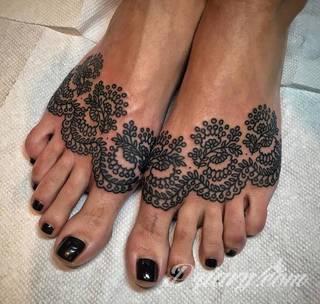 Tatuaże Na Kostke Wzory I Galeria Tatuaży