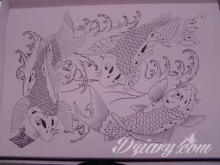 Oryginalne tatuaże orientalne zwracają uwagę drobiazgowością wykonania. Szerokie możliwości zastosowania pozwalają na ich wyeksponowanie w dowolnym miejscu ciała. Orientalny klimat powstaje w ten sposób zarówno na kostkach jak i np. pod biustem.