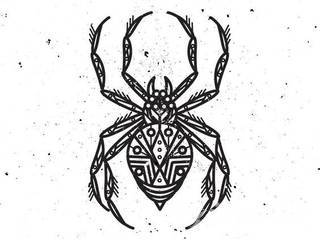 Tautaże pająki