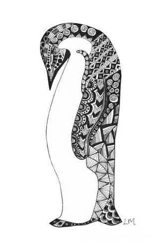 Pingwin na skórze to tatuaż dla osób z dystansem, lekkim przymrużeniem oka. Mało popularne rozwiązanie - zwraca uwagę indywidualizmem i swobodą. Pingwiny na tatuażach to raczej niewielkie rysunki skórne, które nie są nadmiernie wyeksponowane, a stanowią drobną ozdobę na ciele.