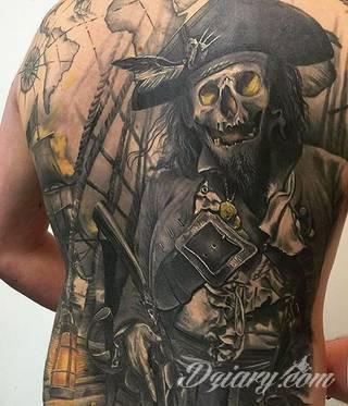 Wzory Tatuaży Piraci Inspiracje Z Kategorii Tatuaże Piraci