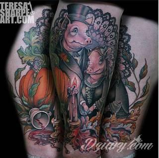 Familijne tatuaże o rodzinnym charakterze to pamiątka na lata. Imiona i daty urodzin dzieci, data ślubu, indywidualne wzory rodzinne - różnorodność formatów tworzących tatuaże przypominające o najbliższych jest wyjątkowo szeroka.