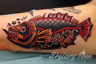 Tatuaże ryby