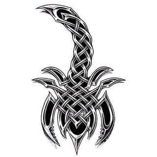Tatuaże ze skorpionami są drapieżne, groźne, wizualnie niepokojące. Podkreślają mocne, męskie ciało, choć coraz chętniej z motywów skropiona korzystają również kobiety. Tatuaże zwracają uwagę bogatą kolekcją motywów - skorpion przybiera na nich różnorodną formę.
