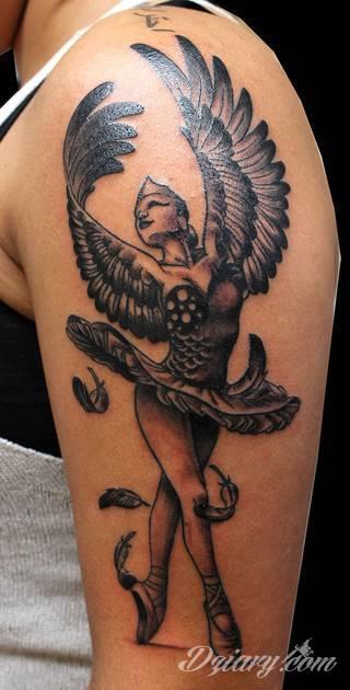 Wzory Tatuaży Skrzydła Inspiracje Z Kategorii Tatuaże
