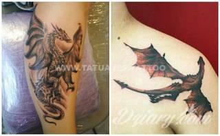 Wzory Tatuaży Smoki Inspiracje Z Kategorii Tatuaże Smoki