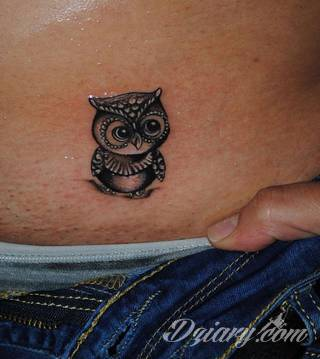 Tatuaże Sowa Wzory I Galeria Tatuaży