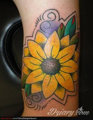 Tatuaże Stokrotka Wzory I Galeria Tatuaży