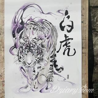 Energia, drapieżność, gotowość na wszystko - tygrys na skórze nie pozostawia złudzeń co do charakteru właściciela. Tatuaże z tygrysem zaskakują czasami różnorodnością. Drapieżniki to nie tylko sam wyszczerzony łeb; chętnie stawia się też na całe sylwetki np. w ruchu.