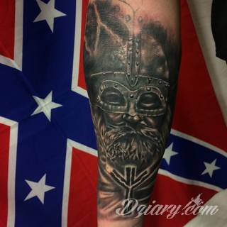 Tatuaże Wiking Wzory I Galeria Tatuaży